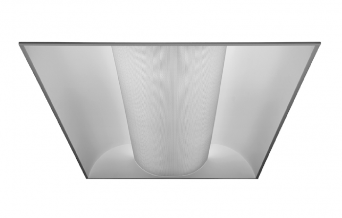 Alcon Lighting 14002 Elite Architectural LED 2x4 Recessed Center Basket Perforated Direct Light Troffer