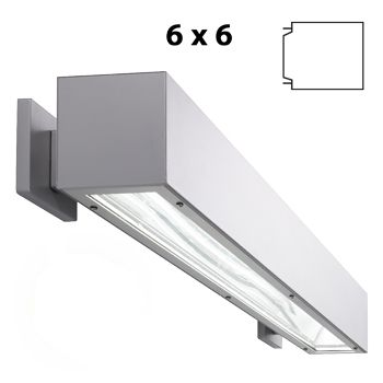 Prudential Lighting P61 Led Linear 6 Inch X Wet