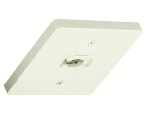 Alcon Lighting 13130 Square Monopoint Architectural LED Track Light Fixture - Single Circuit