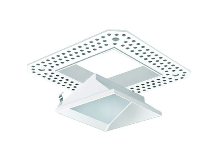 Image 1 of Alcon Lighting 14006-3 Illusione 3 Inch Architectural LED Square Trimless Lensed Recessed Wall Wash Fixture