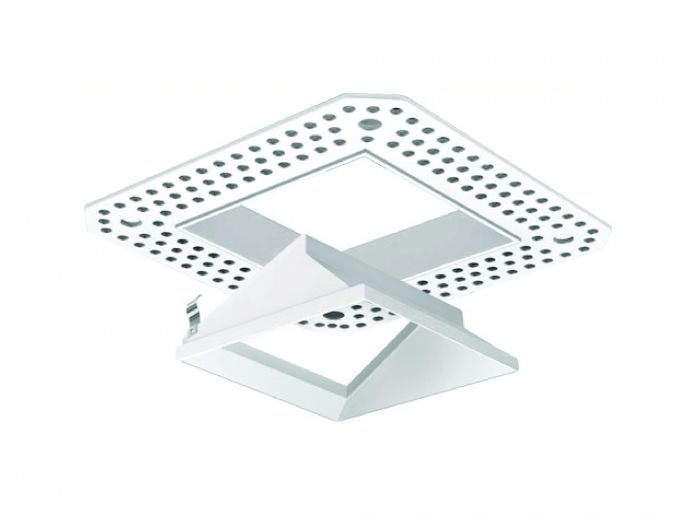 Image 1 of Alcon 14006-4 Illusione Trimless 3 Inch Architectural LED Open Reflector Recessed Fixture