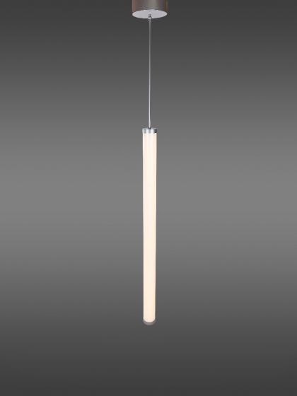 Image 1 of Alcon Lighting 12143 Tube Stick Architectural LED Vertical Cylinder Pendant Light Fixture