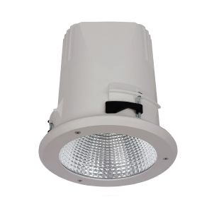 Image 1 of Alcon 14078-4 Recessed Vandal-Resistant LED Outdoor Downlight