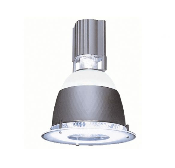 Alcon Lighting 8013 Alta Architectural Commercial Fluorescent 11 Inch Round Low Bay Pendant Mount Direct Down Light Fixture