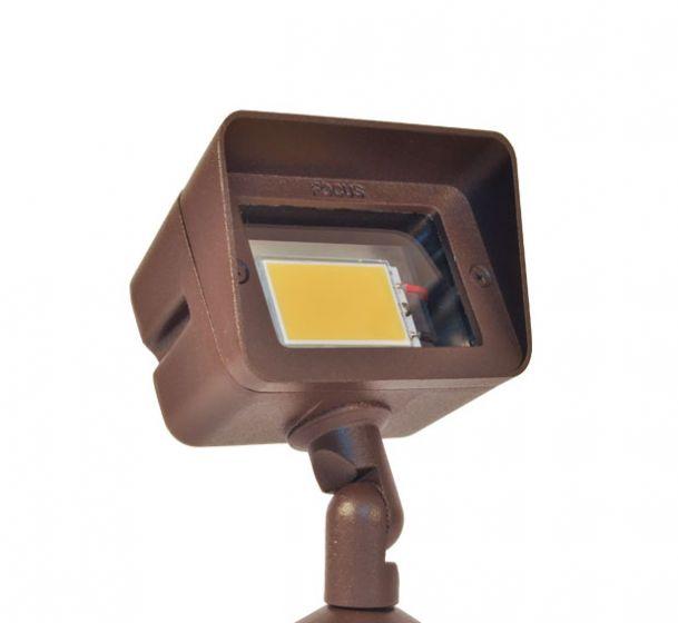 Image 1 of Focus DL-15-LEDP412V 4 Watt Integrated LED Low Voltage Outdoor Flood Light