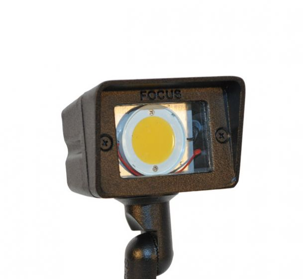Image 1 of Focus DL-15-SLEDP412V 4 Watt Integrated LED Low Voltage Outdoor Flood Light