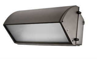Induction 18 Inch Wall Pack - Semi Cut-Off Type Fixture