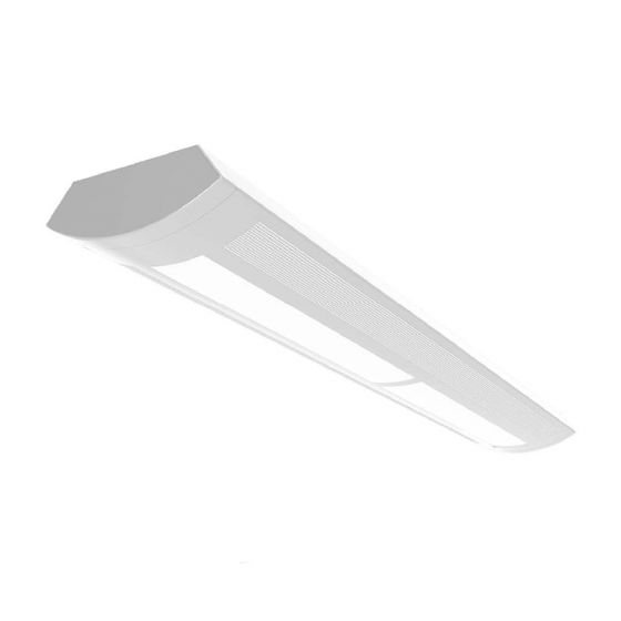 Alcon Lighting 10123 Architectural Suspended Linear Fluorescent Direct / Indirect Office Lighting Fixture - T5 or T5HO