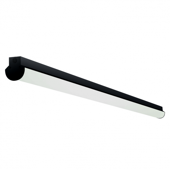 Alcon Lighting 11108-8 Lombardy Industrial Series Commercial LED 8 Foot Linear Surface Mount Direct Down Light Strip