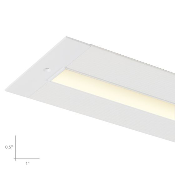 Alcon Lighting 12100-10-LR Slim Continuum 10 Architectural LED Trimless Linear Low Profile Recessed Mount Direct Down Light Fixture