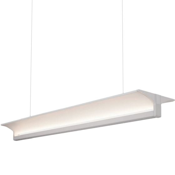 Alcon Lighting 12126 Tee Beam Architectural LED Linear Suspended Pendant Mount Indirect Up Light Fixture