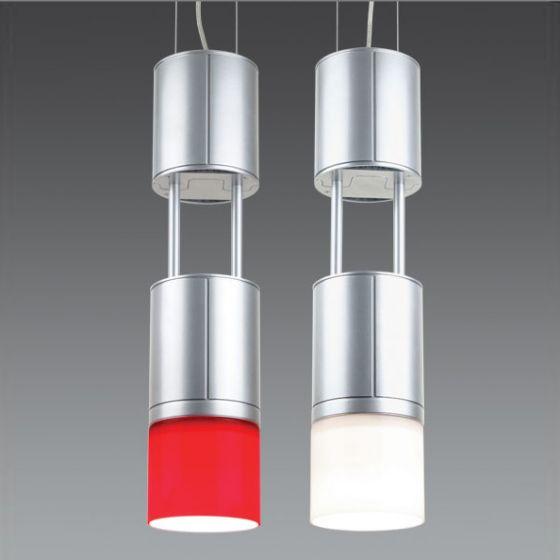 Delray Lighting 1401 Red T6 Metal Halide High Bay Glass Pendant Luminaire