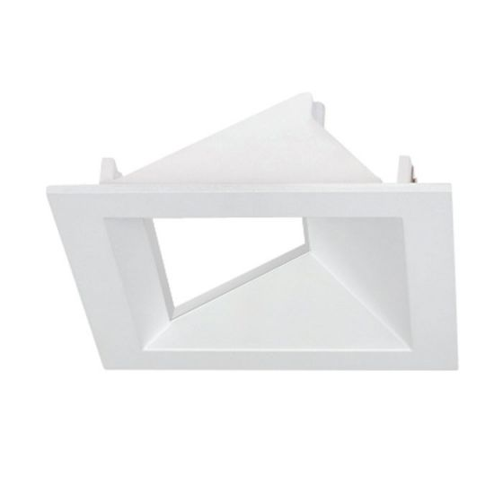 Alcon Lighting 14031-4 Architectural 3 Inch Square LED Open Reflector Recessed Wall Wash