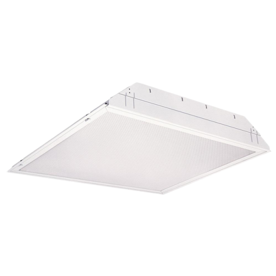 Alcon Lighting 14044 iLED Architectural LED 2x2 Lensed Static Recessed Mount Direct Light Troffer