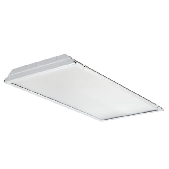Alcon Lighting 14045 iLED Architectural LED 2x4 Lensed Static Recessed Mount Direct Light Troffer