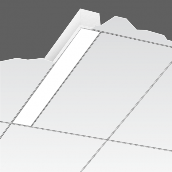 Alcon Lighting 14102-2 i44 Architectural LED 2 Foot Linear Recessed Mount Direct Light Fixture