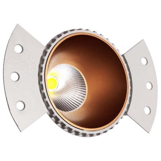 Alcon Lighting 14140-R Illusione 2 Inch Architectural LED Fixed Round Trimless Recessed Direct Down Light Fixture