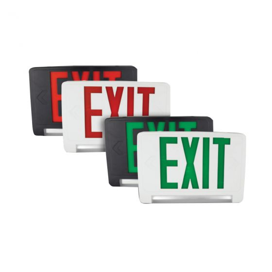 TCP LEDPCUF All LED Emergency Exit Combo Specification Light