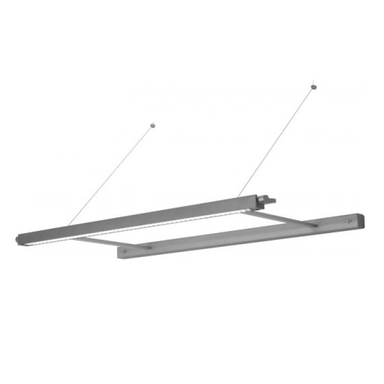 Delray 20 Series Stick T5 Single Lamp Wall Mount Cantilever Light Fixture