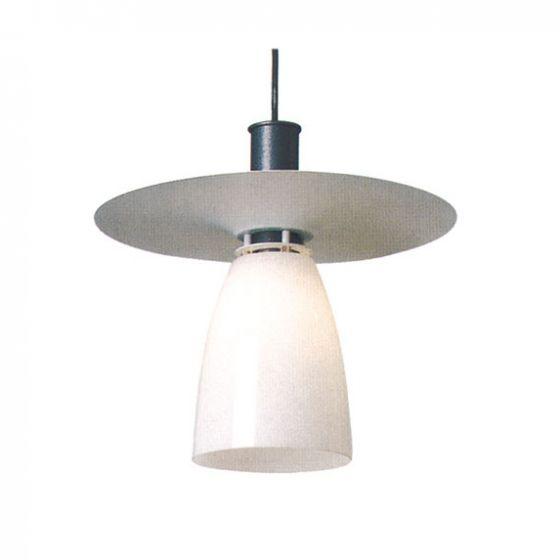 Delray 2270 Aspect Fluorescent Glass Decorative Pendant with Shade