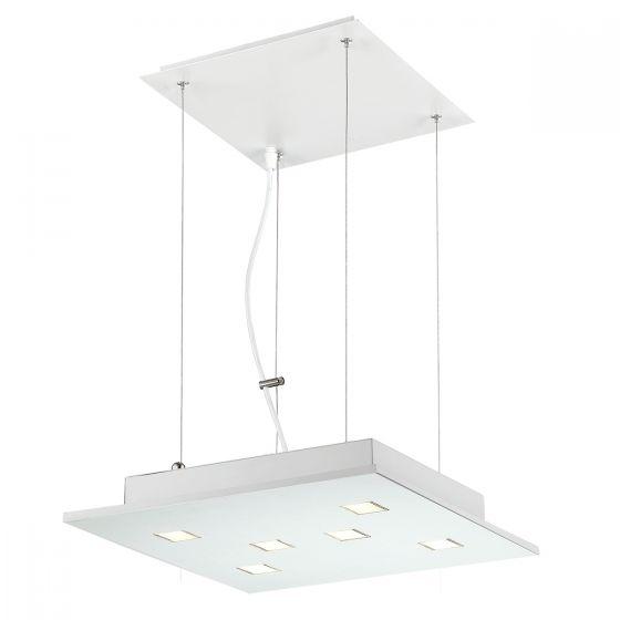 Alcon Lighting 12154 Cuadra 6-Light LED Architectural Suspended Pendant