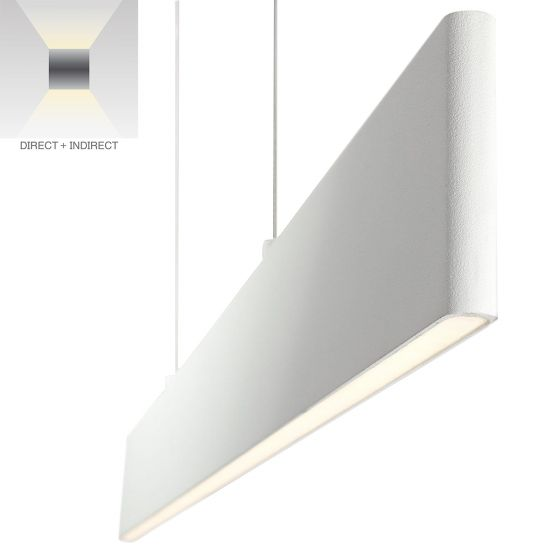 Alcon Lighting 12152 Tablon Up & Down Architectural LED Suspended Pendant Fixture