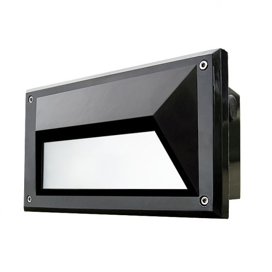 Dabmar FG2010 Recessed 120V Incandescent Fluorescent LED Brick, Wall and Step Light