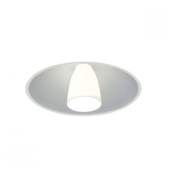 Delray Lighting 4700 21 Inch Semi-Recessed Fluorescent Downlight