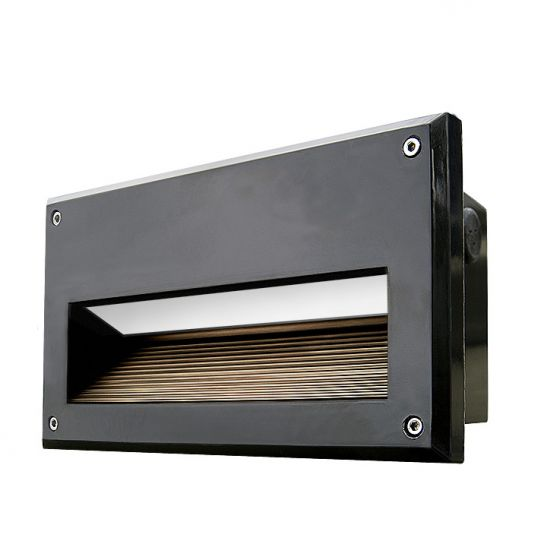 Dabmar FG2020 Recessed 120V-277V LED Incandescent Fluorescent Brick, Wall and Step Light