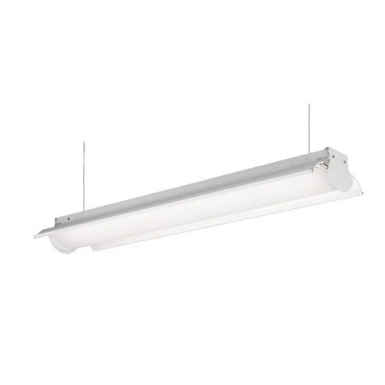 FSC 6100 Series White Contemporary Fluorescent Pendant Fixture