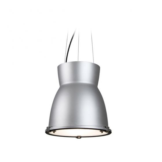 Delray Lighting 7700 Sonar I Low Bay Architectural Pendant Frosted Lens