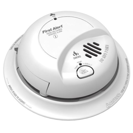 First Alert SC9120B Hardwire Combination Smoke/Carbon Monoxide Alarm with Battery Backup