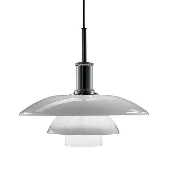 Louis Poulsen Lighting  PH 4 1/2 - 4 Glass Pendant Light Fixture PH4½-4