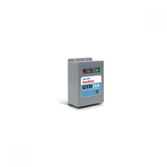 Philips Bodine GTD20A Lighting Relay Device for Generator or Central Inverter Supplied Lighting