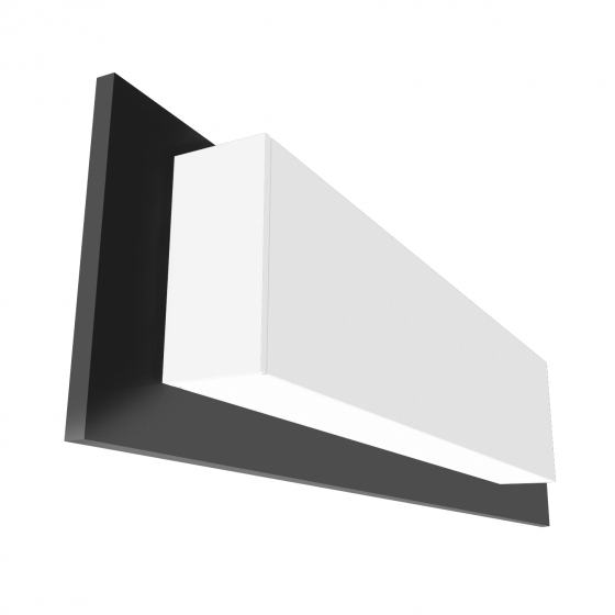 Alcon Lighting 14072-4 illumine Architectural 5 Channel Color Tuning LED 4 Foot Linear Wall Mount Direct/Indirect Light Strip Fixture