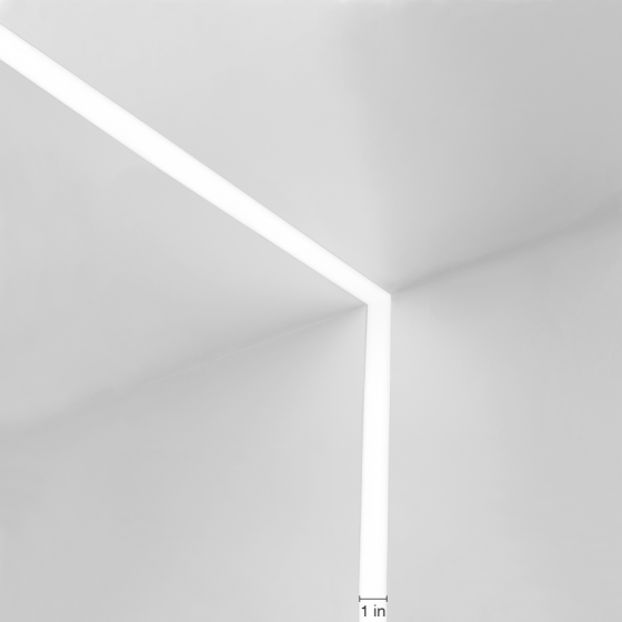 Alcon Lighting 14100-1 Continuum I Architectural LED 1 Inch Wide Trimless Perimeter, Wall, and Ceiling Recessed Direct Down Light Fixture