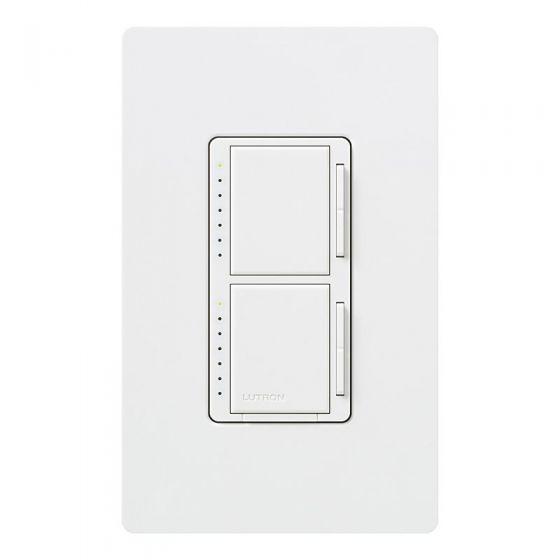 Lutron Maestro Dual Single Pole Digital Fade Dimmer