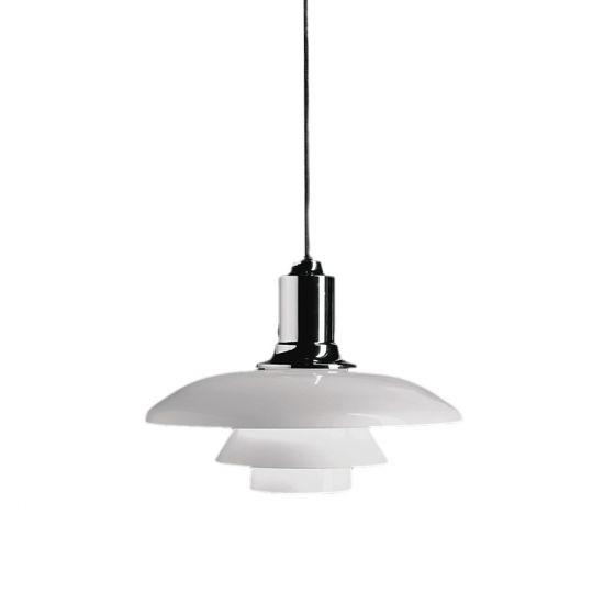 Louis Poulsen Lighting  PH 2/1 Pendant Light Fixture PH2/1-P