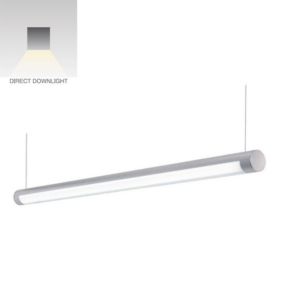 Alcon Lighting 12204-8 Saber 8FT Architectural LED Tube Suspension Light Fixture