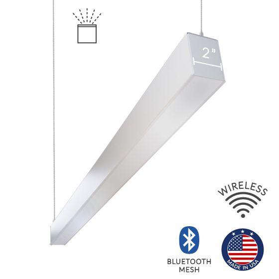Alcon Lighting 12100-20-P-U Continuum 20 Series Architectural LED Linear Pendant Mount Indirect Light Fixture