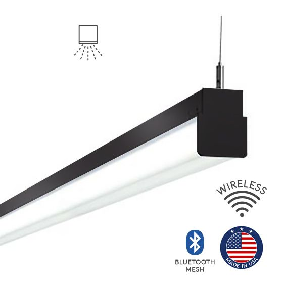 Alcon Lighting 12171 Block Architectural LED Linear Suspension Lighting Pendant Mount Direct Light Strip