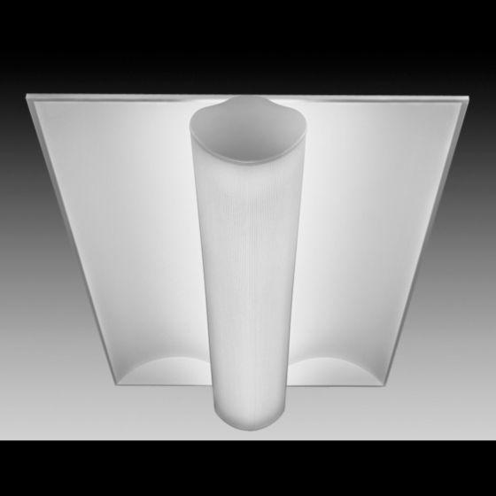 Focal Point Lighting FS324B Softlite III 2x4 Architectural Recessed Fluorescent Fixture