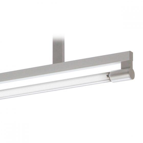 Delray 12 Series Stick T5 Single Lamp Ceiling Stem Mount Fluorescent Pendant