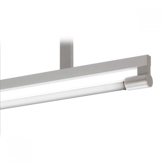 Delray 11 Series Stick T5 Single Lamp Ceiling Stem Mount Fluorescent Pendant