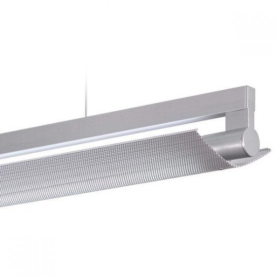 Delray 13 Series Stick T5 Fluorescent Rail Pendant 2-Piece Eliptical Diffuser