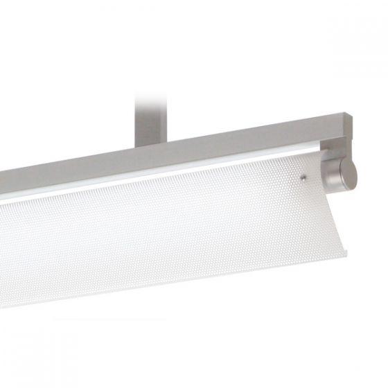 Delray 18 Series Stick T5 Single Lamp Ceiling Stem Mount Fluorescent Pendant