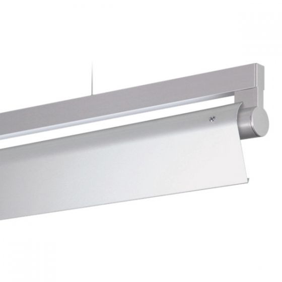 Delray 19 Series Stick T5 Fluorescent Rail Pendant Assymetric Full Perforation