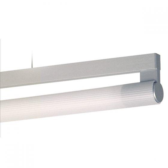Delray 21 Series Stick T5 Fluorescent Rail Pendant Acrylic Lamp Diffuser