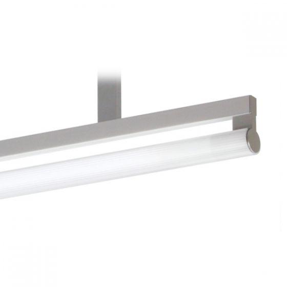 Delray 21 Series Stick T5 Single Lamp Ceiling Stem Mount Fluorescent Pendant
