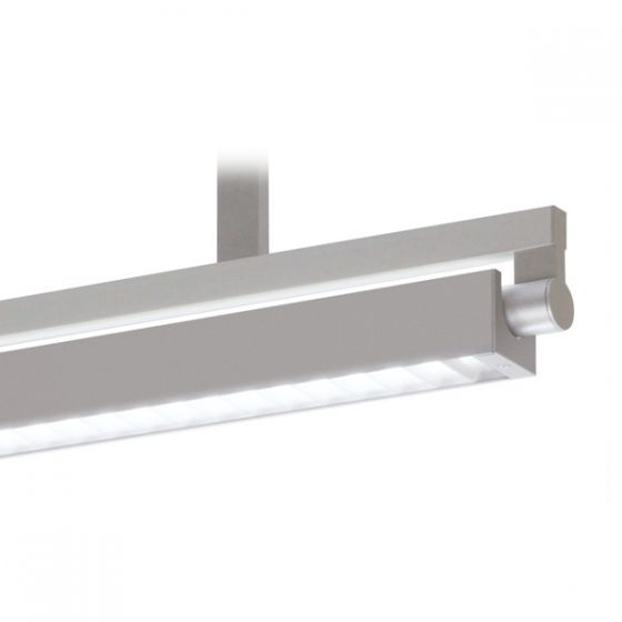 Delray 30 Series Stick T5 Single Lamp Ceiling Stem Mount Fluorescent Pendant